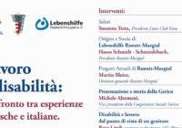 Lavoro e disabilità: confronto tra esperienze tedesche e italiane.